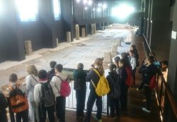 En Sagunto comenzamos a llevar las visitas guiadas de la Via del Portic y la Domus dels Peixos