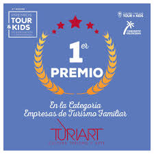 TURIART WINS THE FIRST PRIZE IN THE FAMILY CATEGORY OF TOURIST COMPANIES TOUR & KIDS
