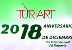 Turiart cumple 18 años y lo celebra con una iniciativa de apoyo al migrante