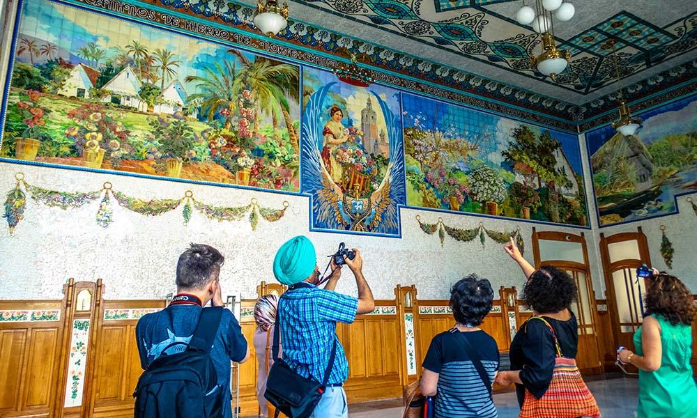 ruta del modernismo valencia ruta guiada paseos culturales art nouveau turismo cultural comunidad valenciana