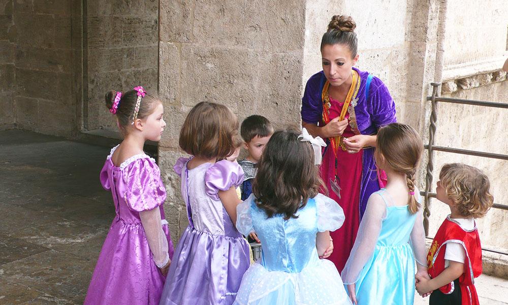 Caballeros y Princesas - Rutas infantiles - Actividades familiares - Valencia