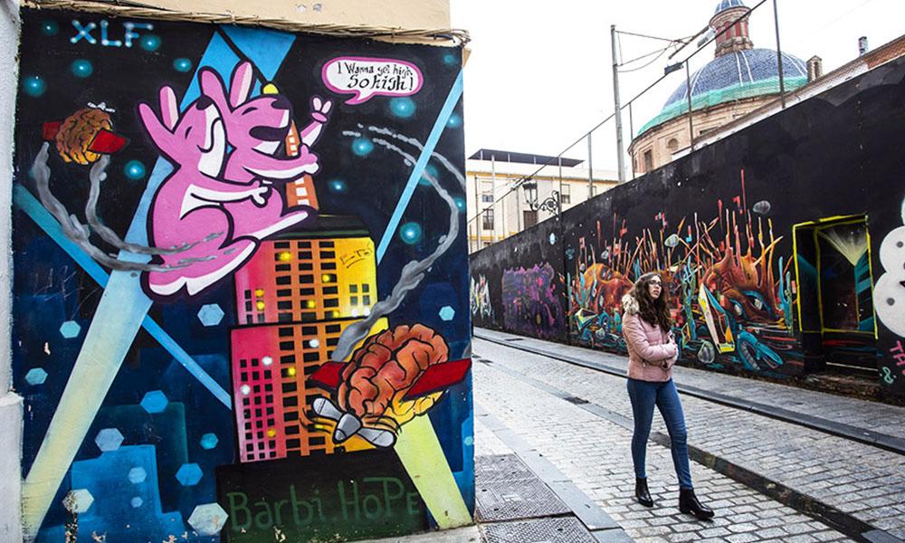 Street art y arte urbano - Ruta urbana - Ruta guiada - Valencia - Turiart - Paseos guiados - Rutas culturales