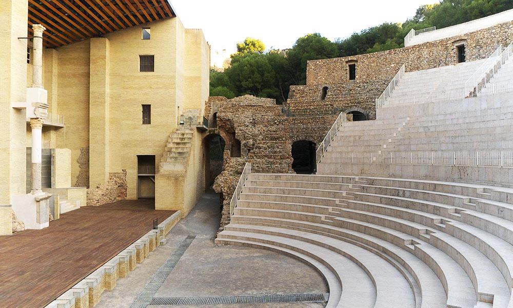Teatro romano de Sagunto - Turiart - Sagunto Historia del Mediterráneo - Ruta guiada - Paseos culturales